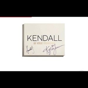 Kendall by Kylie cosmetics signed PR box